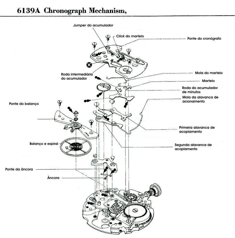Módulo do cronógrafo
